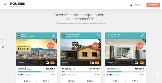 proptech madrid: housers crowdfunding inmobiliario